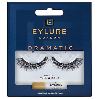 Eylure Dramatic Double False Black Wimpers - 203 - Lash Lijm inbegrepen