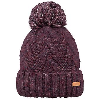 Barts Iphe Bobble Hat in Purple