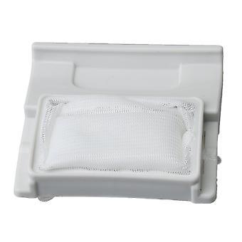 Valkoinen pesukoneet nukka suodatin 7.2x6.7cm