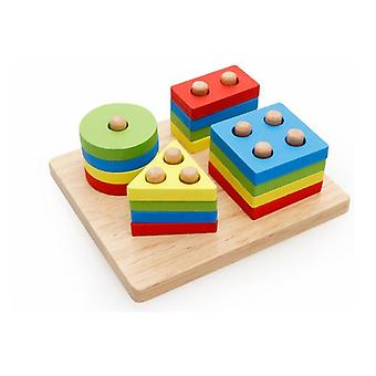 Wooden Geometry Shape-educational Intelligence