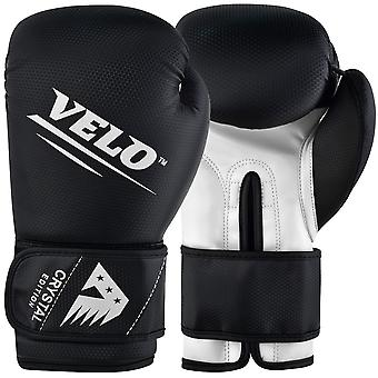 VELO Boxing Gloves Crystal Leather