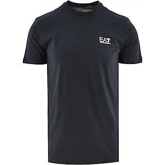 EA7 Navy Short Sleeve Logo T-Shirt