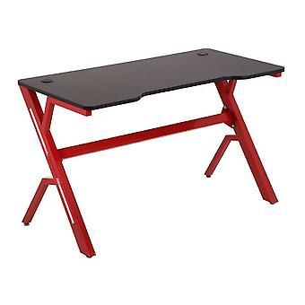 Stół do gier podstawowy - z wycięciem - czerwony