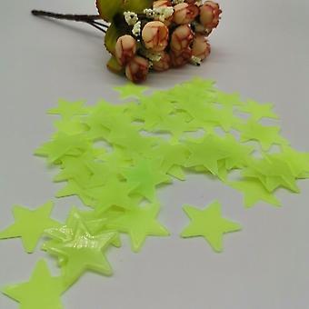 3d Night Luminous Stars Stickers Glow In The Dark Toys Bedroom Decor Christmas