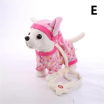 Singing Walking Robo - Interactive Toy Dog With Bag For Kids