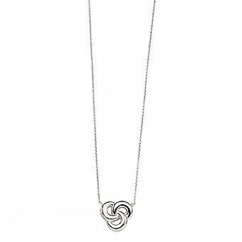 Beginnings Sterling Silver N4098 Celtic Necklace