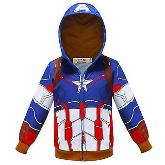 Super Hero Hoodies, Sweatshirt - Little Boy Tracksuit For Halloween Set-1