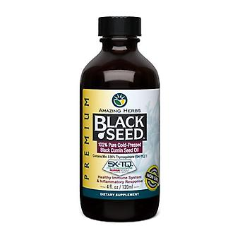 Amazing Herbs Black Seed Oil, 4 Oz