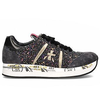 Tênis feminino premiado conny 4264 com glitter