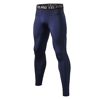Men Fitness Running Tights, High Elastic Compression Sports Leggings  Pants