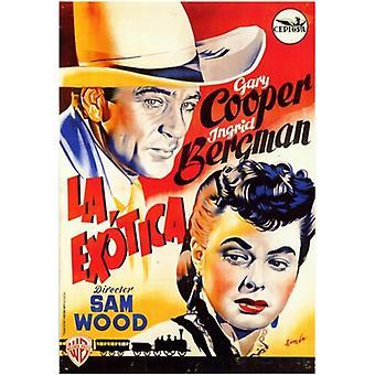 Saratoga Trunk Movie Poster (11 x 17)