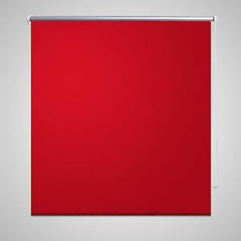 Blackout roller blind 160 x 175 cm red