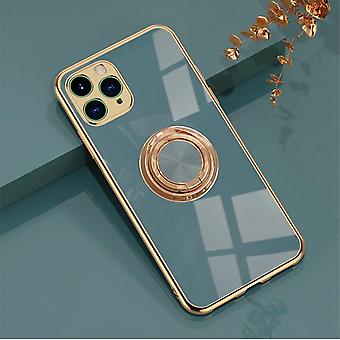 Luxury Stylish Mobile Shell ║iPhone11 Pro Max║ with Ring Stand Feature Gold
