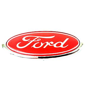 Red Ford Rear Boot Badge Emblem For Mondeo