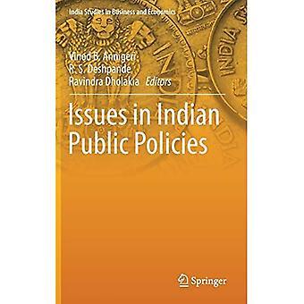Kwesties in Indisch Openbaar Beleid (De Studies van India in Bedrijfs en Economie)
