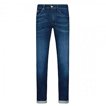 Hugo Boss Delaware3 Blue Washed Slim Fit Jeans 412 50437912