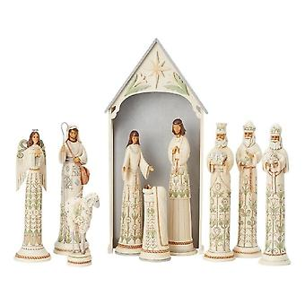 Jim Shore Heartwood Creek Woodland 10 Piece Nativity Le750