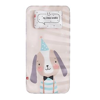 Baby Ice Silk Mat With Pillow Set Kindergarten/mattress Cute Cartoon Crib