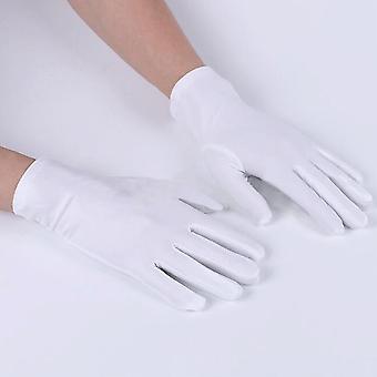 1pair גברים כללי התנהגות כפפות קצרות דק למתוח הגנה מפני השמש חמש אצבעות