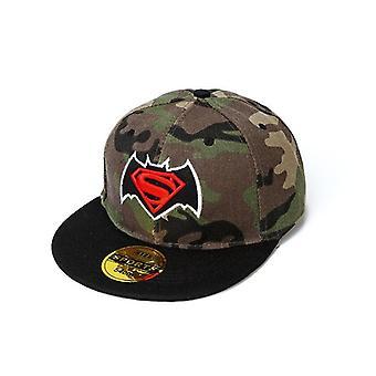 Captain America Camouflage Hiphop Hat, Baseball Cap