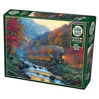Cobble hill puzzle - smokey train