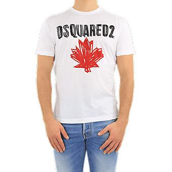 Dsquared2 T-Shirt White S74GD0848100 Top