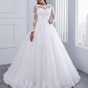 Bridal Wedding Dress, Support Petticoat 1-layer Yarn Skirt, Women Costume