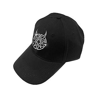 Disturbed Baseball Cap Icon & Band Logo new Official Black Unisex
