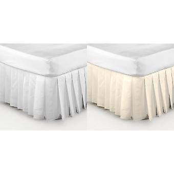Belledorm Easy Fit Knife Pleated Plate-forme Valance