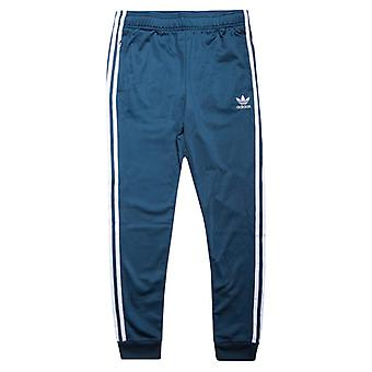 Boy & apos; s adidas Originals Junior SST Spor Bukser i Blått