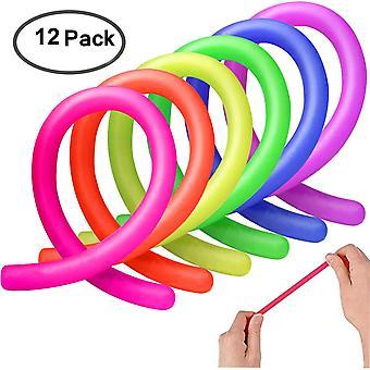 I giocattoli elastici sensoriali colorati Ameitech aiutano a ridurre il irrequieto a causa dello stress e dell'ansia