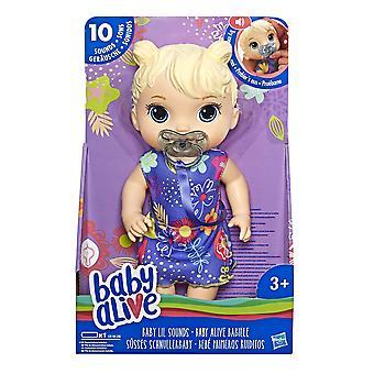 baba él baba lil hangok: interaktív baba baba a lányok és fiúk korosztály 3 és fel, teszi 10 hang e