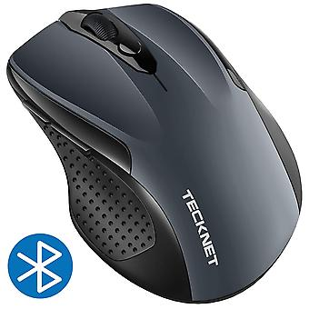 Tecknet bluetooth mouse, 2600dpi adjustable wireless mouse with 24 months battery life cordless mice
