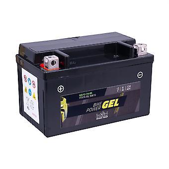 intAct YTX7A-BS / 50615 Gel Bike-Power Battery