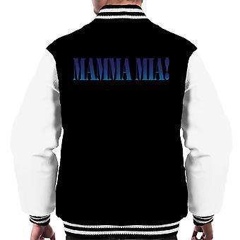 Mamma Mia Theatrical Logo Men's Varsity Jacket