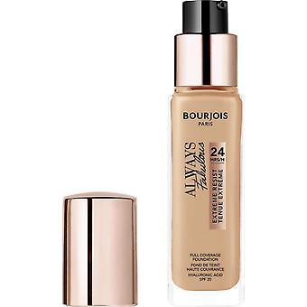 Bourjois alltid fabelaktig 24t ekstreme motstå foundation - 200 rose vanilje