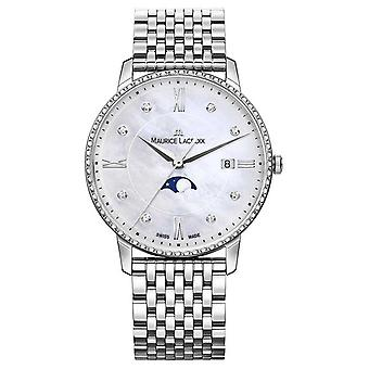 Maurice Lacroix Eliros Women's Moonphase Mother Of Pearl Stainless Steel EL1096-SD502-170-1 Watch