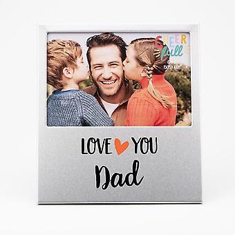 Widdop & Co. Aluminium Frame 6 X 4 - Love You Dad