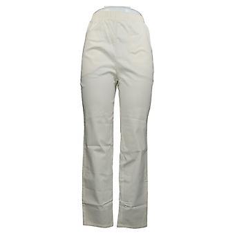 الدنيم وشركاه المرأة & ق السراويل تمتد جينز W / جيوب بيضاء A271388