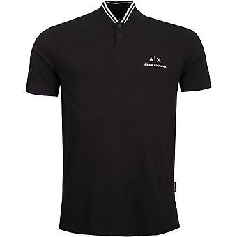 Armani Exchange Baseball Collar T-Shirt