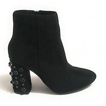 Gold&gold Ankle Boot Ecopelle Suede Tc 80 Black Woman D19gg18