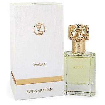 Swiss Arabian Walaa Eau De Parfum Spray (Unisex) By Swiss Arabian 1.7 oz Eau De Parfum Spray