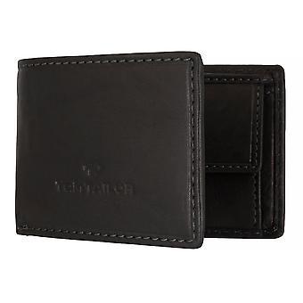 TOM TAILOR Homme Portefeuille portefeuille porte-monnaie RFID Noir 4806