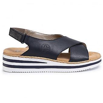 Sandales bleues Pazifik
