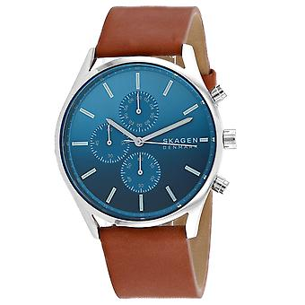Skagen Men's Holst Blue Dial Watch - SKW6732