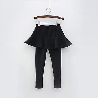 Pure Color Pants Kids Leggings 2-10y Clothing Autumn Cotton Warm Baby