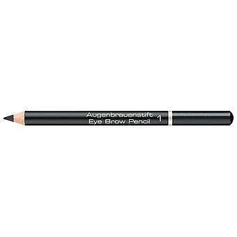Artdeco Wenkbrauwpotlood # 1 Zwart 1,1 gr