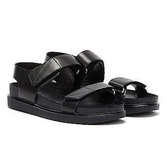 Vagabond Erin Velcro Womens Black Sandals