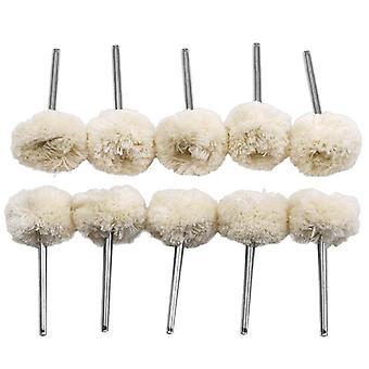 10pc 3mm Wool Polishing Brush