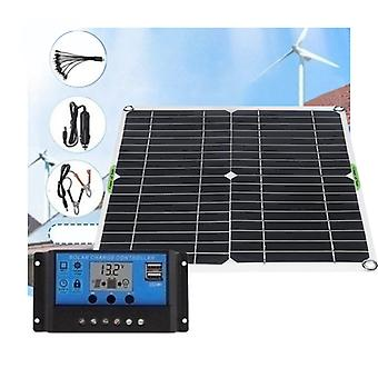Wasserdichtes und schneesicheres Polysilizium 2000W 5V/12V Dual-Ausgang USB Solar Panel Kit